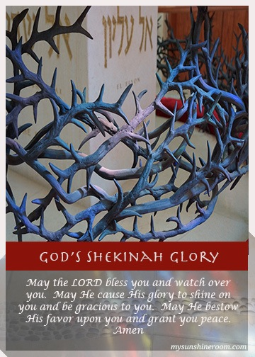 Shekinah Glory 2 Picture Prayer